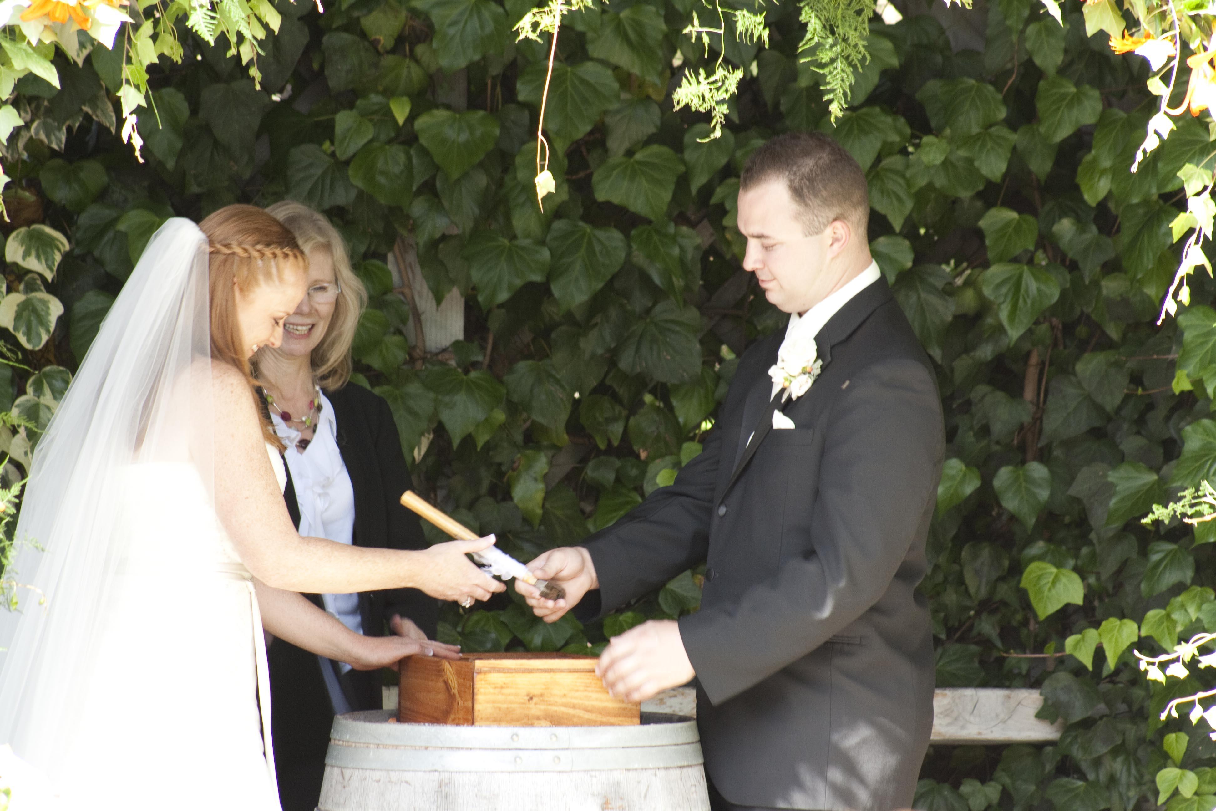 Wine Box Ceremony