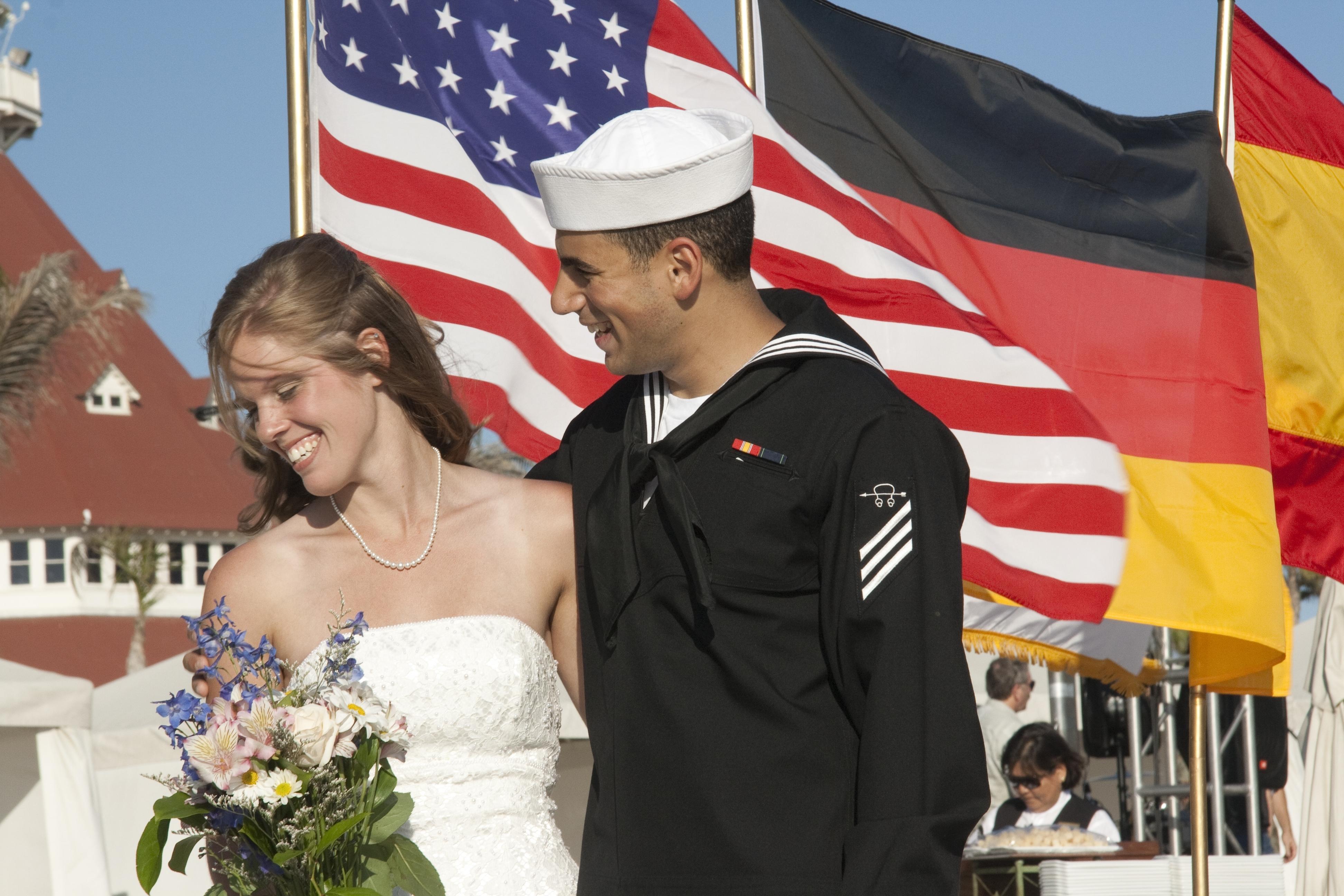 Military Wedding Coronado Beach