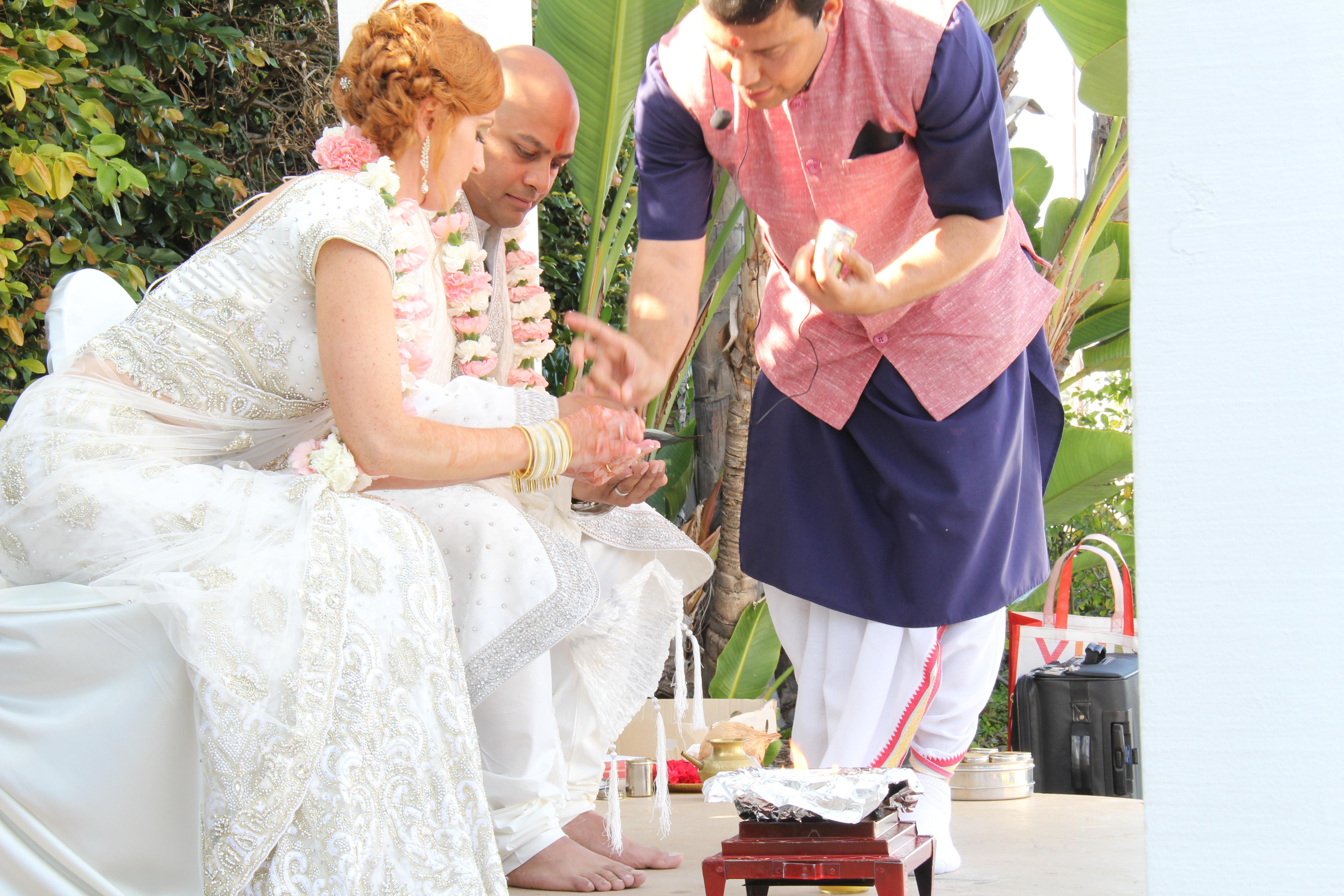Christian and Hindu wedding April 2015