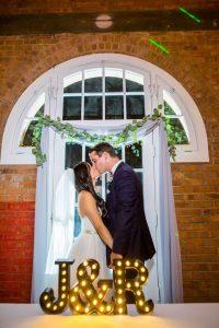 Jemmy and Ryan's ultra modern wedding at bricksd.com. September 2016