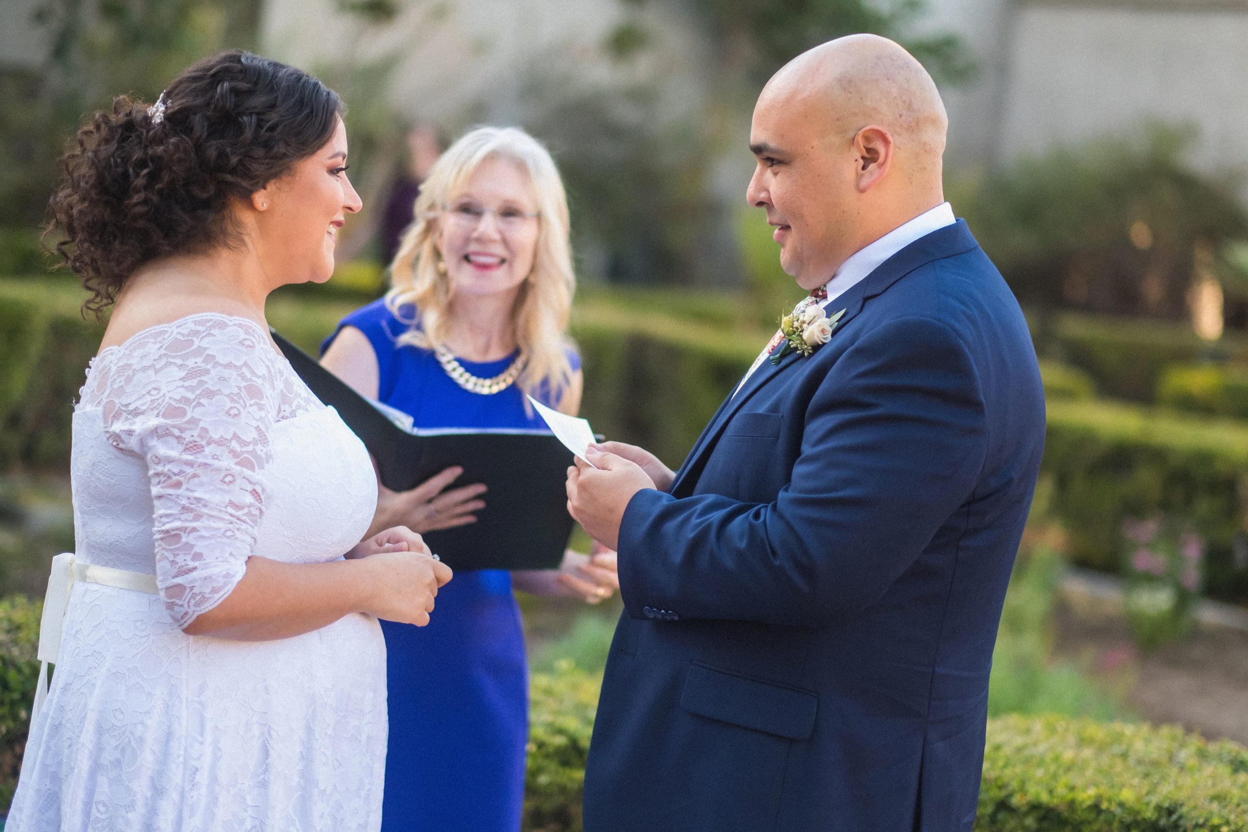 Joann Wedding Officiant San Diego